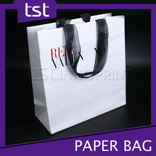 Unique Design Gift Paper Bag with Double Handle