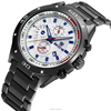 High quality Waterproof cheap popurlar cheap chronograph stainless steel watch