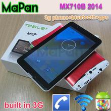 best selling mtk8312 dual core 3g phone wifi/ mapan dual sim bluetooth phone call tablet