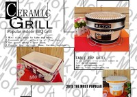 BBQ at home Table Top Grill Charcoaling Japanese Table Grill