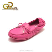 Leather soft sole for dancing girl wholesale china women shoes