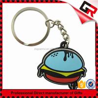 Nice Looking Best-Selling heart shaped pvc key chain