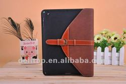 Belt Buckle Retro leather case For iPad Mini