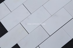 century 2*4inch brick polished marble mosaic tile home depot