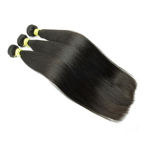 Livraison Gratuite Brésiliens 8A Droit Normal Vierge Non Transformés Cheveux Humains