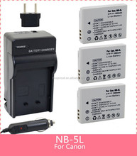 new camera battery for canonCamera battery For Canon NB5Lnew canon battery