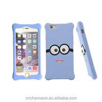 Cartoon character cellphone case silicone mobile cheap phone case CO-SIL-402