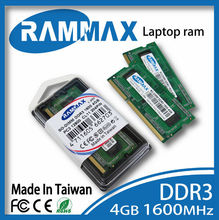 branded export surplus DDR3 SO-dimm 1600MHz 4GB memory module. 512*8*8c Laptop notebook computer memoria ram sodimm rammax