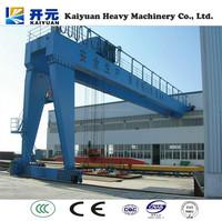 Industrial Electric Block BMH Type Semi-goliath Gantry Crane for Cambodia