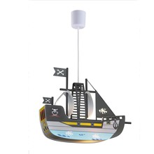 Energy-saving ship shaped cartoon kids pendant lamp for kids room