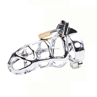 metal stainless male chastity belt