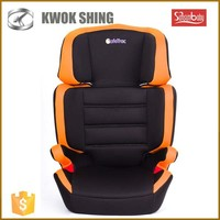 Hot sale new baby product orange black color group 2/3 baby racing car seats