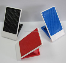Plastic desk soft anti-slip mobile cell phone holder for promotion