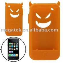 Cell phone accessory phone case Devil Silicon case for iphone 3g 3gs ,for iphone 3g case