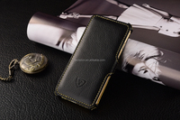 Yellow Soft lining phone case, stand case function, grained PU design for iphone 6