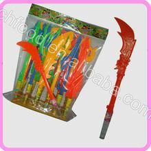 Arma de brinquedo dos doces para as crianças / faca de brinquedo doces / espada brinquedo doces