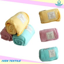 Factory Direct Sale High Quality Baby Blanket 100% Polyester Baby Quilt
