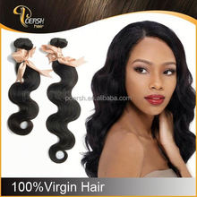 2015 Aliexpress 6A 12-30 Inches Natural Black Body Wave light brown lace closure