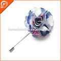 agradable de cinta de raso flores hechas a mano para la decoración de prendas de vestir