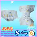 Muestras sueves y transpirable tela de Pañales de bebé