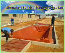 2015 The China Sunrise biogas power plant/biogas digester for animal waste