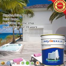 Weathering resistance & color retention exterior latex paint