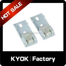 KYOK double curtain rod bracket ,28mm&19mm metal curtain rod bracket,curtain rail brackets