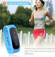2015 hot Health sleep monitoring smart band E02 smart bracelet bluetooth fitness band 180days Long standby For Android and iOS