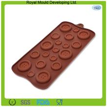 molde de silicona con forma de sujetador para galleta / del chocolate