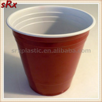 9oz cheap disposable plastic cups red solo plastic beer cups wholesale/OEM custom print plastic red round solo cup manufacturer