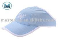 100% polyester sports mesh Sports sun visor cap