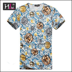 Trending hot products 2015 stock lots cheap t shirts embroidered with high quality