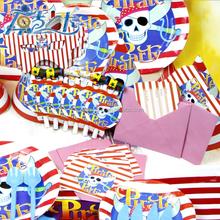 1st birthday party supplies ,Pirate theme kids partysupplies