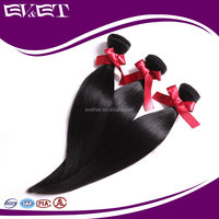 EVET 100% Peruvian Silky Straight Virgin Remy Hair 7A Unprocessed Peruvian Hair Weave Sew in Human Hair Extensions
