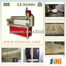Sin-y1200 automático 3d cnc torno de madera para ventas calientes