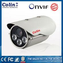Colin marca exterior impermeable fácil de instalar la cámara ip p2p 1080p