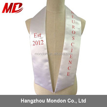 Graduation Stole/Sashes For Graduation Gown --Graduation Honor Stoles/Sashes in 12 color available/College