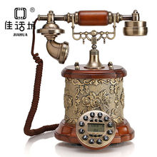 JIAHUA decoración del hogar réplica teléfono antiguo resina teléfono
