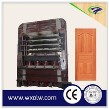Wooden door skin manufacturing machine