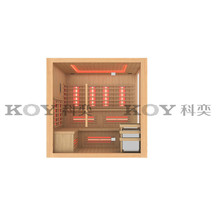 KOY New sauna, infrared sauna cabin (with CE, TUV, SAA, EMC certifications)
