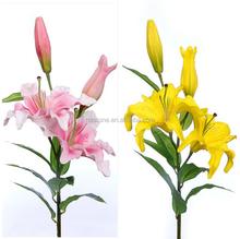 El agua floral de alta calidad de PU de Lily flor planta alta simulacion simulacion de decoracion de flores