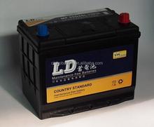 automotive batteries 55d26l mf sealed lead acid battery