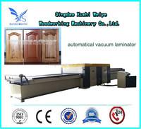 pvc vacuum membrane press for making kitchen cabinet furniture production line