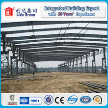 prefabricated wokshop,warehouse,shed, plant of steel structure construction