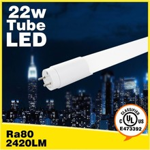1500mm great heat dissipation Going green quick start 22w UL led tube lights