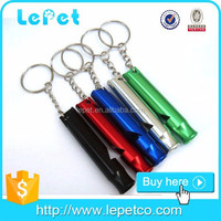 hot sale pet training titanium whistle whistles for dogs with good price