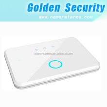 CE approved Simple APP controlled home security alarm system wireless GSM home safety alarm kit