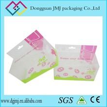 2015 popular disposable PVC PET PP plastic foldable shopping box