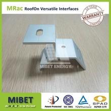 Trapezoidal tin Roof Solar Bracket System Interface