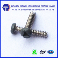 carbon steel thread forming head painted m3 Triangular Drive screw